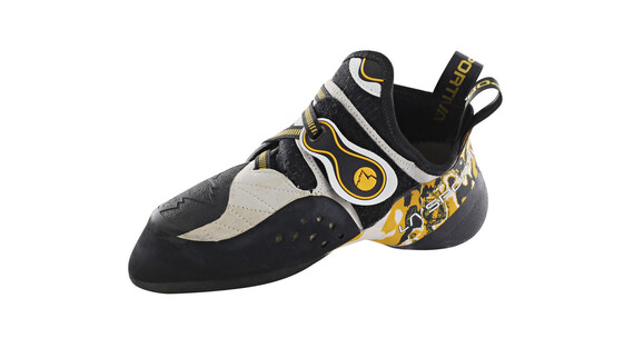 La Sportiva Solution Climbing Shoes Men White/Yellow